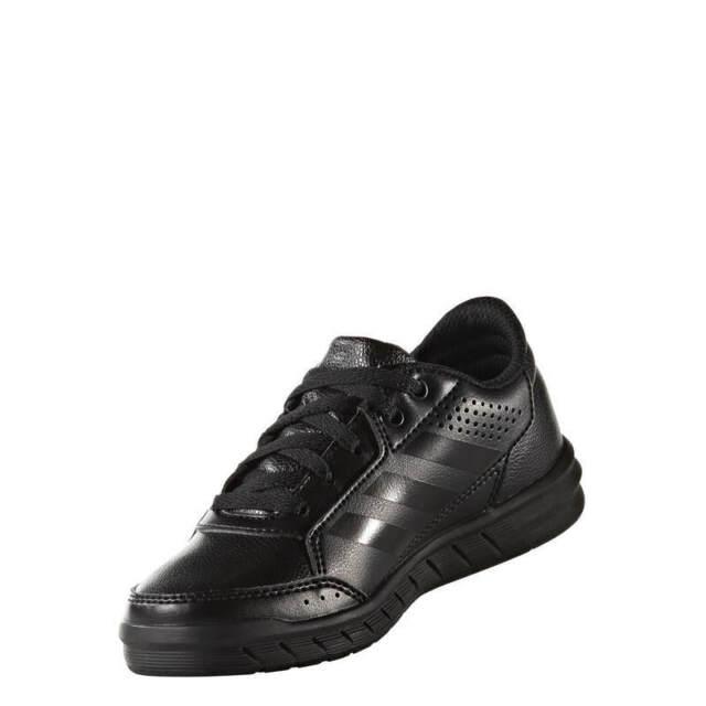 boys black adidas sneakers