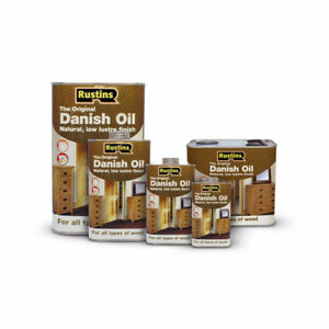Details About Rustins Danish Oil For Wooden Furniture Timber Worktop Protection All Sizes