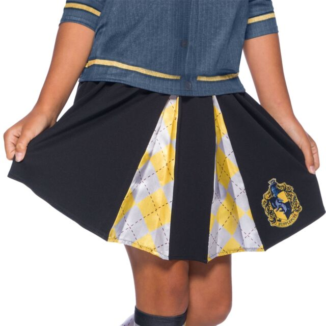 Harry Potter Hogwarts House Hufflepuff Skirt Child Costume