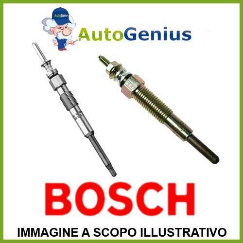 4 Candelette VW TRANSPORTER V Furgonato 2006/>2009 BOSCH 402005