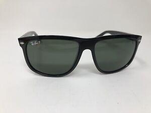 Ray-Ban-RB4147-Sunglasses-Black-Frame-Polarized-Lenses-601-58-60mm-Large-DS03