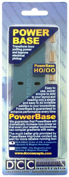 DCX-PBKit. DCC Concepts PowerBase Starter Kit OO//HO Scale