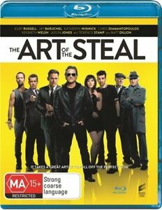 Art-Of-The-Steal-Blu-ray-2014-Terrific-Condition-Kurt-Russell