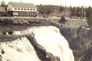 Vintage-Photograph-Kakabeka-Falls-Ontario-Port-Arthur-Camera-Shop-Postcard-G905