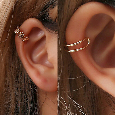 1pc Ear Cuff Clip On Earrings Fake Cartilage Earrings Non Piercing