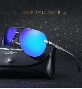 Gafas-de-sol-Polarizadas-Aaron-Blue-UV-400-Funda-Sunglasses-Sonnenbrillen