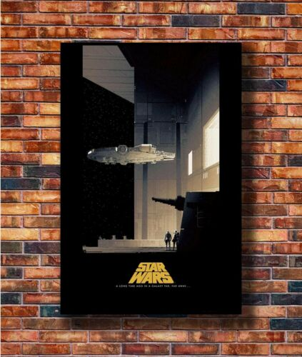 Hot Fabric Poster Star Wars a New Hope Classic Movie Film 36x24 40x27inch Z3051