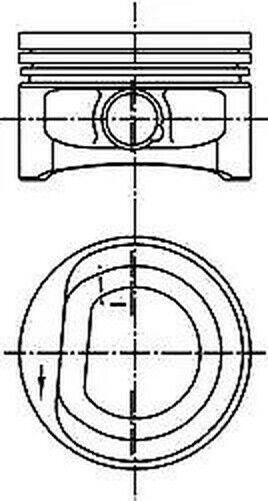 Piston Kolbenschmidt 99452600