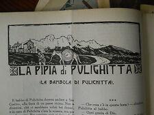 Il giornalino della domenica 1922 LA PIPIA DI PULIGHITTA  M. CeciliaTerpa Branca