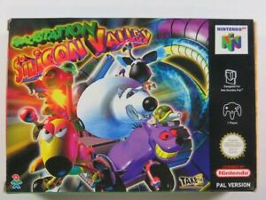SPACE STATION - SILICON VALLEY NINTENDO 64 (N64) PAL-EUR (COMPLETE - GOOD CONDIT