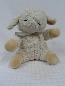 """VGUC 12"""" CLOUD B Sleep Sheep Soft Plush Crib Soother White noise Timer Rain"""