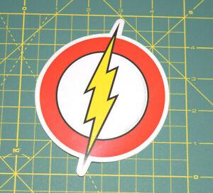DC-Comic-Originals-Flash-Logo-Sticker-Brand-NEW-in-Stocks