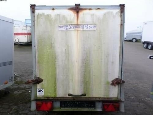 Trailer, Kvik Cargotrailer Kvik, lastevne (kg): 450