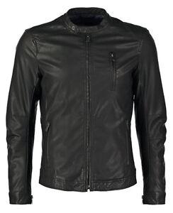 Giacca-Giubbotto-Uomo-in-di-PELLE-100-Men-Leather-Jacket-Veste-Homme-Cuir-R66c
