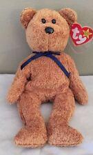 TY BEANIE BABY - 1998 FUZZ THE BEAR  CUTE HUGGABLE COLLECTIBLE
