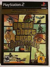 Grand Theft Auto San Andreas Special Edition. PlayStation 2 PS2 GTA.  NO DISCS.
