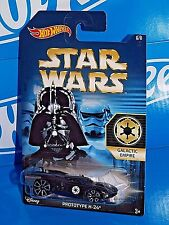 Hot Wheels 2015 Wal-Mart Exclusive Star Wars 6/8 Galactic Empire Prototype H-24