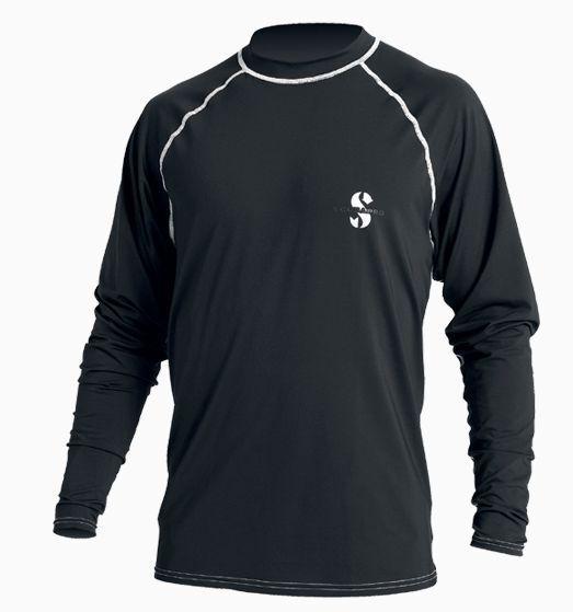 Scubapro uv-shirt ample im Fit im ample Tee-shirt Partie Hommes (Noir) - Neuf a651d5