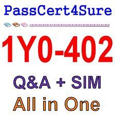 Citrix XenApp and XenDesktop 7.15 Assessment, Design 1Y0-402 Exam Q&A PDF+SIM
