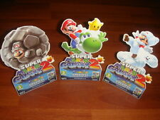 Super Mario Galaxy 2 Mini Store Display New Wii Nintendo Yoshi Rock Cloud Mario