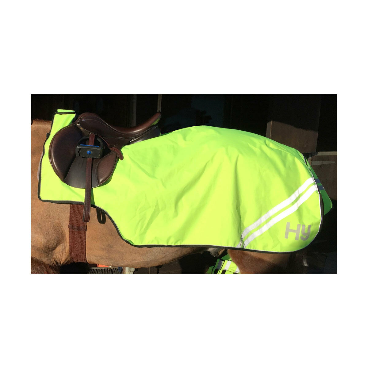 HyVIZ Reflective Flourescent Hi-Vis Reflector Exercise  Sheet Yellow 4'6 -5'0   promotions