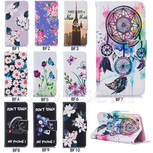 BF-Flip-Patterned-Hybrid-PU-Leather-Wallet-Lot-Slot-Stand-Book-Case-Cover-Bumper