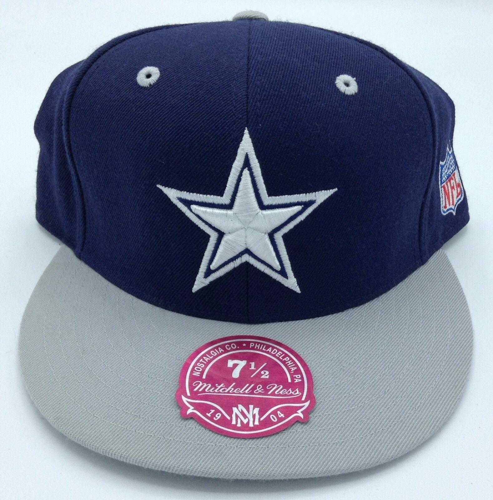 NFL Dallas Cowboys Mitchell & Ness Passende Strukturiert Kappe Mütze Beaniemütze