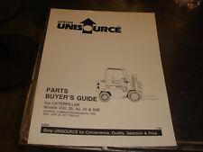Catapillar V30 35 40 45 50b Forklift Parts Guide Manual Book Catalog