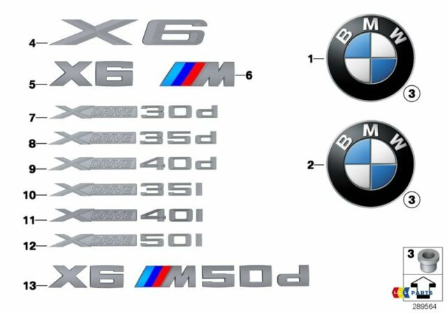 BMW NEW GENUINE X5 X4 X3 XDRIVE35D SERIES LABEL STICKER BADGE EMBLEM 7362493