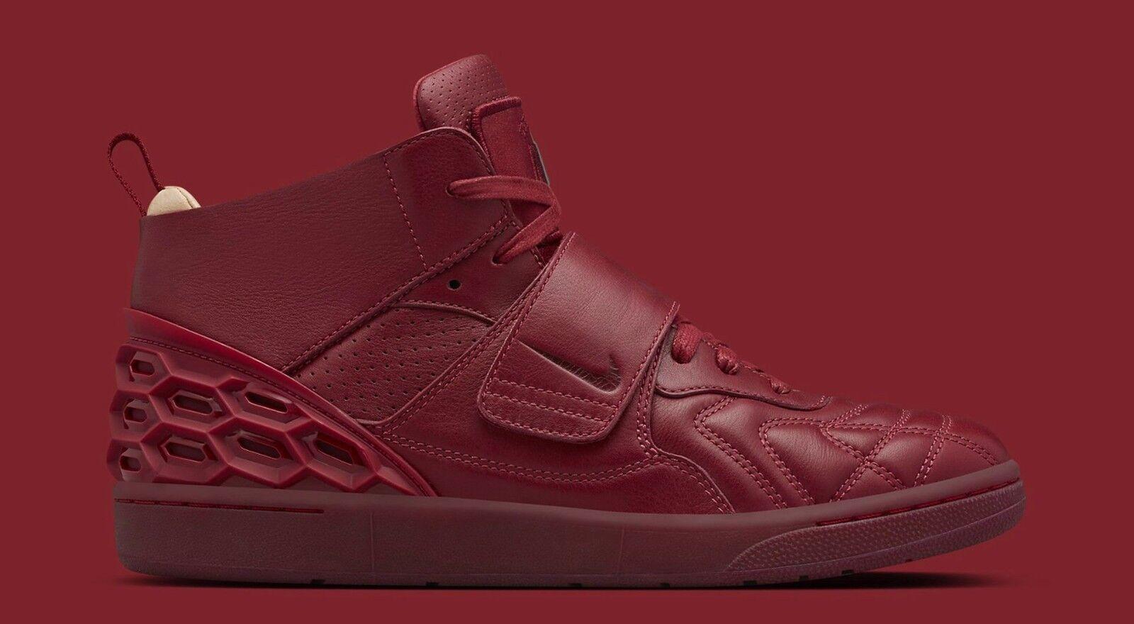 Nike laboratorio tiempo vetta squadra red vachetta tan 840482-600 Uomo sz 10 cuoio