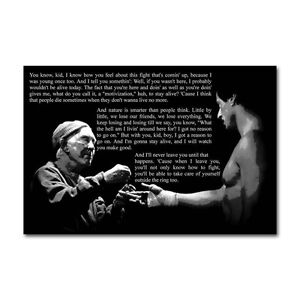 Details About Rocky Balboa Motivational Quotes Silk Cloth Poster 13x20 Inch Decor 001