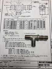 "F-117 Airlifter Awacs 1//4/"" ID,AVIATION CROSS,TUBE MS21906J6 1//2/"" OD Engine"