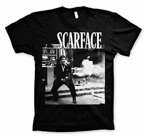 39f3e93a00f Image is loading UNISEX-Official-Licensed-SCARFACE-Movie-TONY-MONTANA-Black-