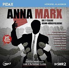 Anna Marx * CD Krimi-Hörspielreihe von Christine Grän MP3-CD Pidax Neu