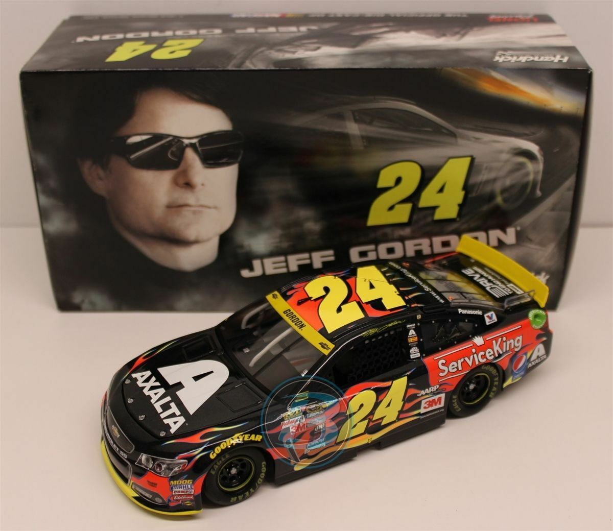 NASCAR JEFF GORDON AXALTA SERVICE KING  1 24 CAR CAR CAR 96145a
