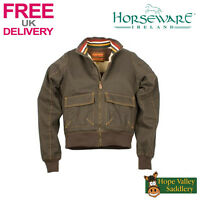 Horseware Newmarket Fleece Lined Blouson Jacket **SALE** **FREE UK Shipping**
