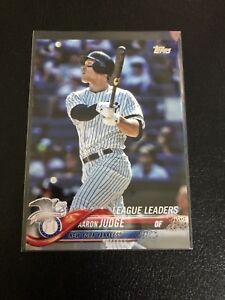 Lot-Of-25-New-York-Yankees-Baseball-Cards-2018-Topps-Series-1-Aaron-Judge