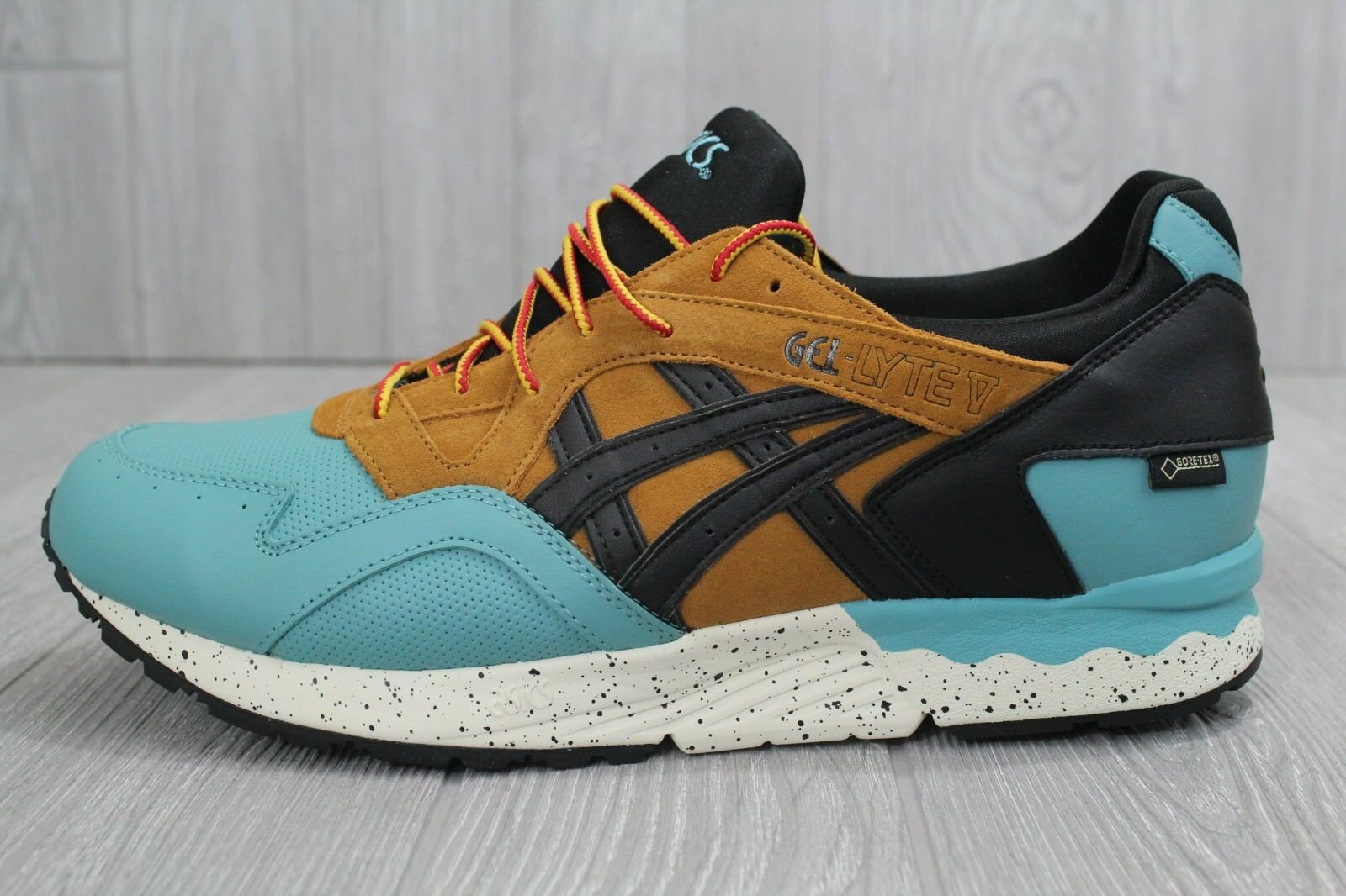 27 New Men's Asics HL6E2 Gel Lyte V GTX Kingfisher/Black HL6E2 Asics Shoes 11.5-12.5 632817