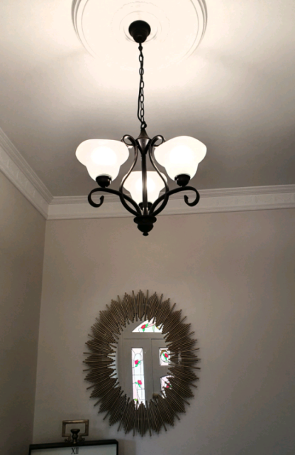 Beacon Lighting Chandeliers 5 Arm Light 3 Wall Sconce