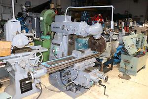 Cincinnati-Cinel-60-DH-Universal-Mill-12-034-x-60-034-Table-Powered-X-Y-Z