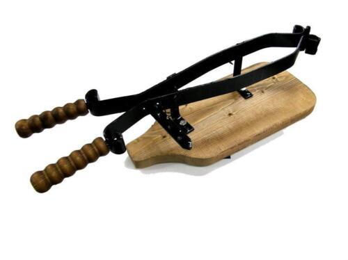 Porta prosciutto base in legno Made in Umbria