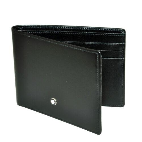 Mont Blanc Meisterstuck Black Leather Wallet 6cc 14548