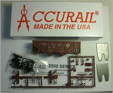 Accurail HO #7700 UNDEC. Offset-Side Twin Hop.