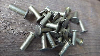 "25 x 3//16/"" x 3//4/"" COUNTERSUNK  HEAD SOLID ALUMINIUM RIVETS MODEL RAIL"