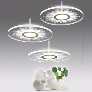 Details About Modern Simple Round Acrylic Led Pendant Light Lamp Suspension Lighting Fixtures