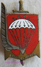 IN14021 - INSIGNE3° Régiment de Parachutistes Coloniaux, émail, dos lisse argent