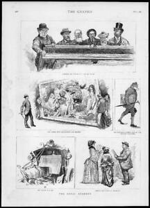 1887-Antique-Print-LONDON-Royal-Academy-Sampson-Solomon-Illustrations-183