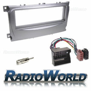 Ford-Focus-MK2-Mondeo-MK4-amp-S-Max-Stereo-Radio-Fascia-Fitting-Surround-KIT