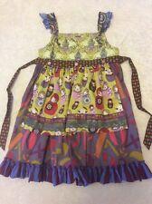 Matilda Jane Knot Dress 10 Girls Delancey numbers Russian Nesting Dolls