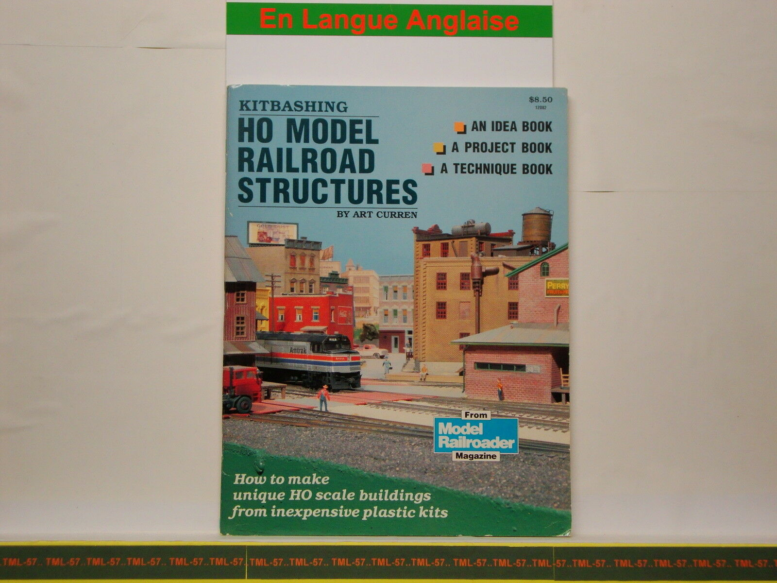 Livre MODEL RAILROADER - HO Model Railroad Structures - 78 p